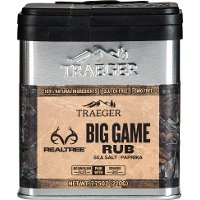 SPC180 Traeger Grill Realtree Big Game Rub