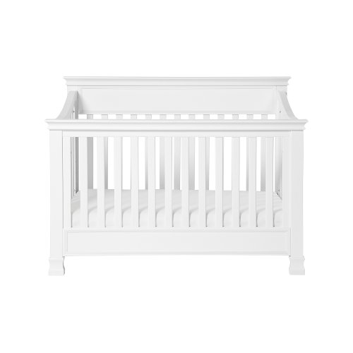 Classic White 4-in-1 Convertible Crib - Foothill
