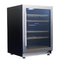 WCF43S3SD Avanti Wine Chiller with Seamless Door - 24 Inch Stainless Steel