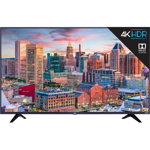 55S517 TCL 5 Series 55 Inch 4K UHD HDR LED Roku Smart TV