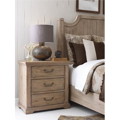 Rachel Ray Home Sunbleached Nightstand - Monteverdi