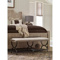 Rachel Ray Home Sunbleached Bed Bench - Monteverdi