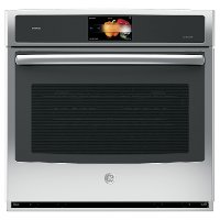 PT9051SLSS GE Profile Series Single Wall Convection Oven - Stainless Steel