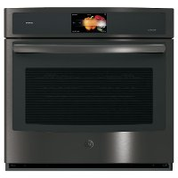 PT9051BLTS GE Profile 30 Inch Smart Single Wall Oven - 5.0 cu. ft. Black Stainless Steel