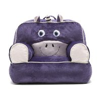 0887678 Purple Unicorn Bean Bag Throne Chair - Bagimal