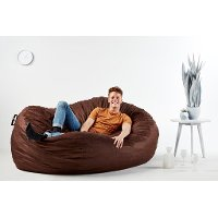 0001656 Lenox Cocoa Brown Lounger - XXL Fuf