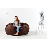 0005656 Lenox Cocoa Brown Lounger - King Fuf