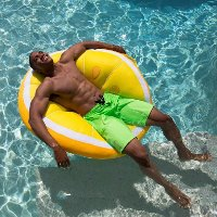 2197LEM Lemon Mesh Slice Pool Floaty  - Fruit Float