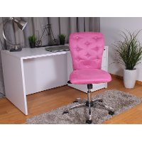 Comfortable Pink Office Chair