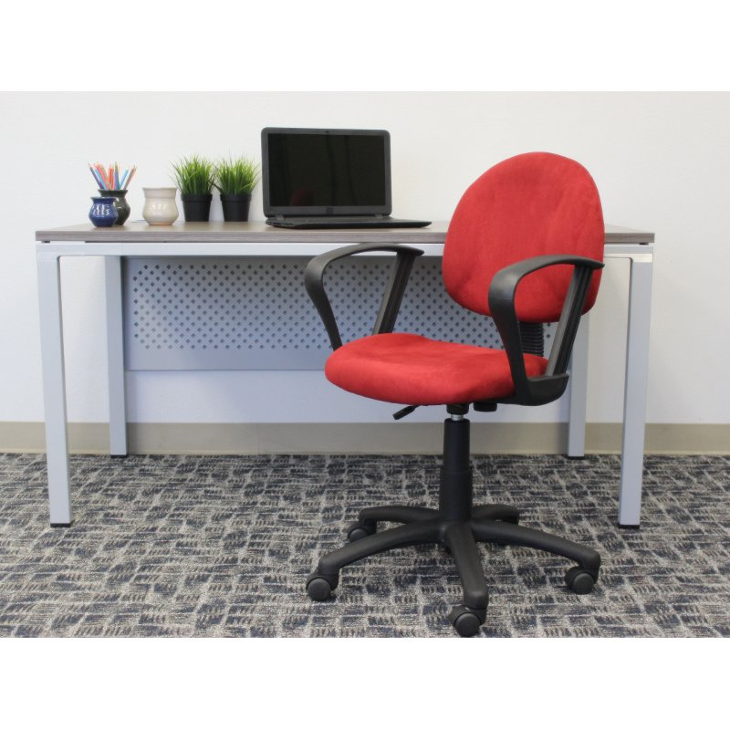 Deluxe Red Office Chair for Posture