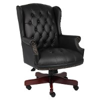 Black High-Back Executive Office Chair