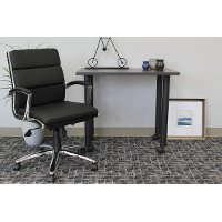 Black Mid-Back Executive Chair