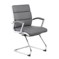 Gray Executive Guest Chair