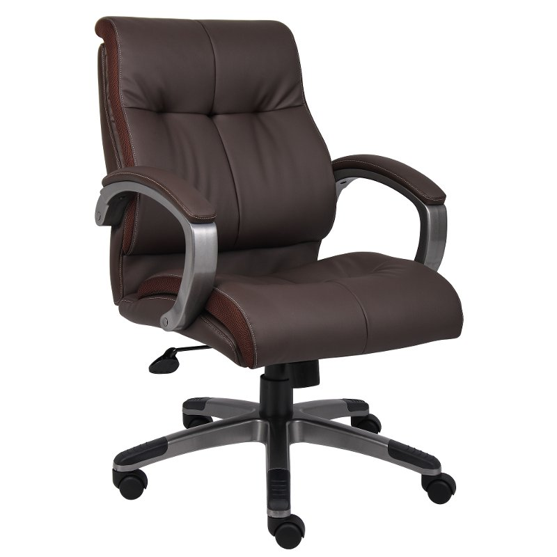Brown High Back Executive Office Chair