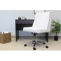 White Decorative Office Chair