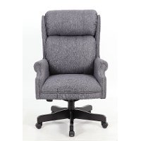 Slate Gray High-Back Office Chair