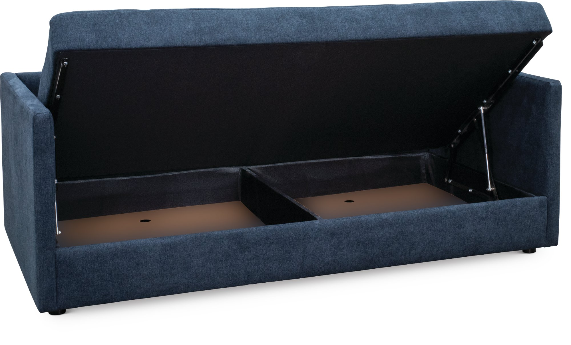 Contemporary Midnight Blue Sofa Daybed With Storage Cooper Rc Willey Furniture