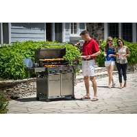 923584 Broil King Baron S590 Liquid Propane Grill - Stainless Steel