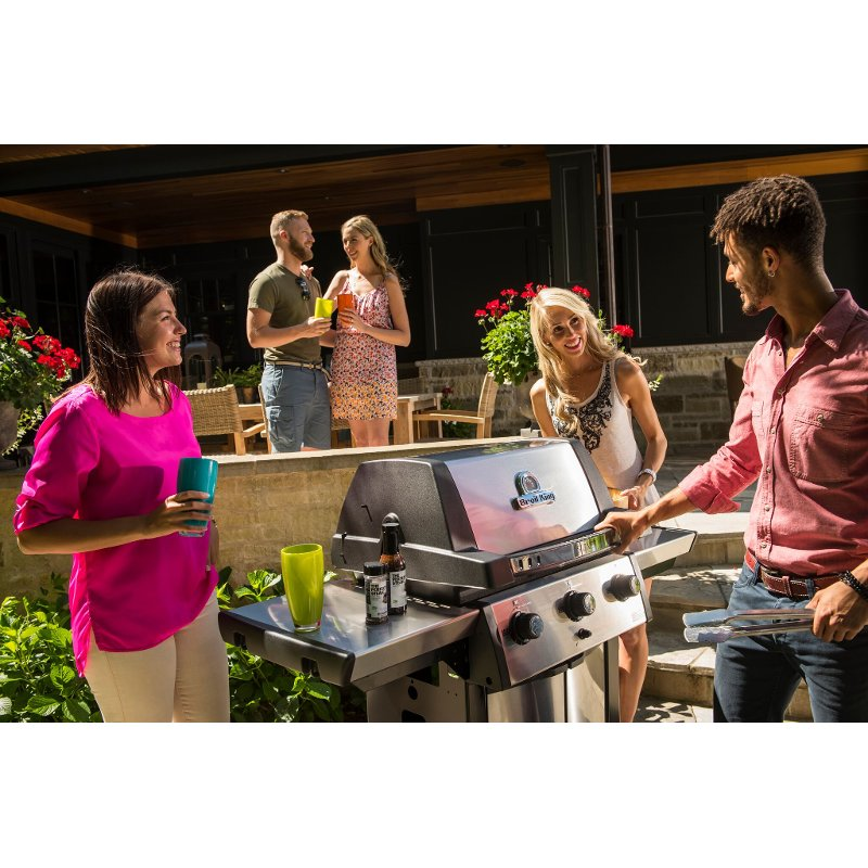Broil King Signet 320 Natural Gas Grill - Stainless Steel