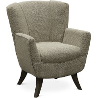 Contemporary Stone Club Accent Chair - Bethany
