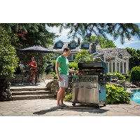 958347 Broil King Regal S590 Pro Natural Gas Grill - Stainless Steel