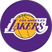 LA Lakers PopSocket Cell Phone Grip and Stand