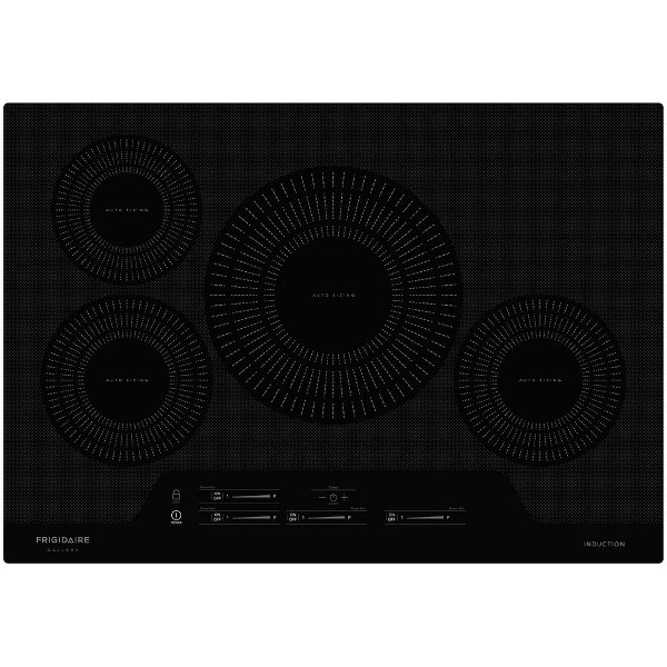 FGIC3066TB Frigidaire Gallery 30 Inch Induction Cooktop   Black ...
