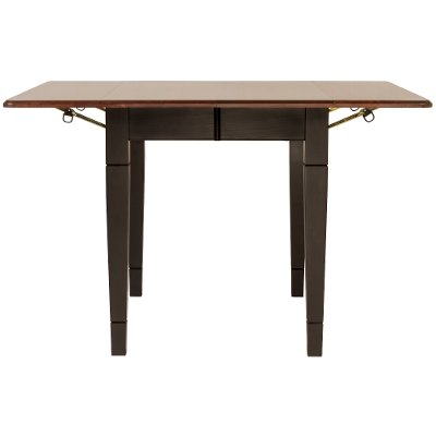 Maple Two-Tone Drop Leaf Dining Room Table - Saber
