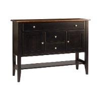 Maple Two-Tone Dining Room Buffet - Saber