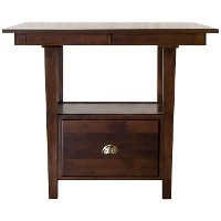 Dark Brown Counter Height Dining Room Table - Larkin