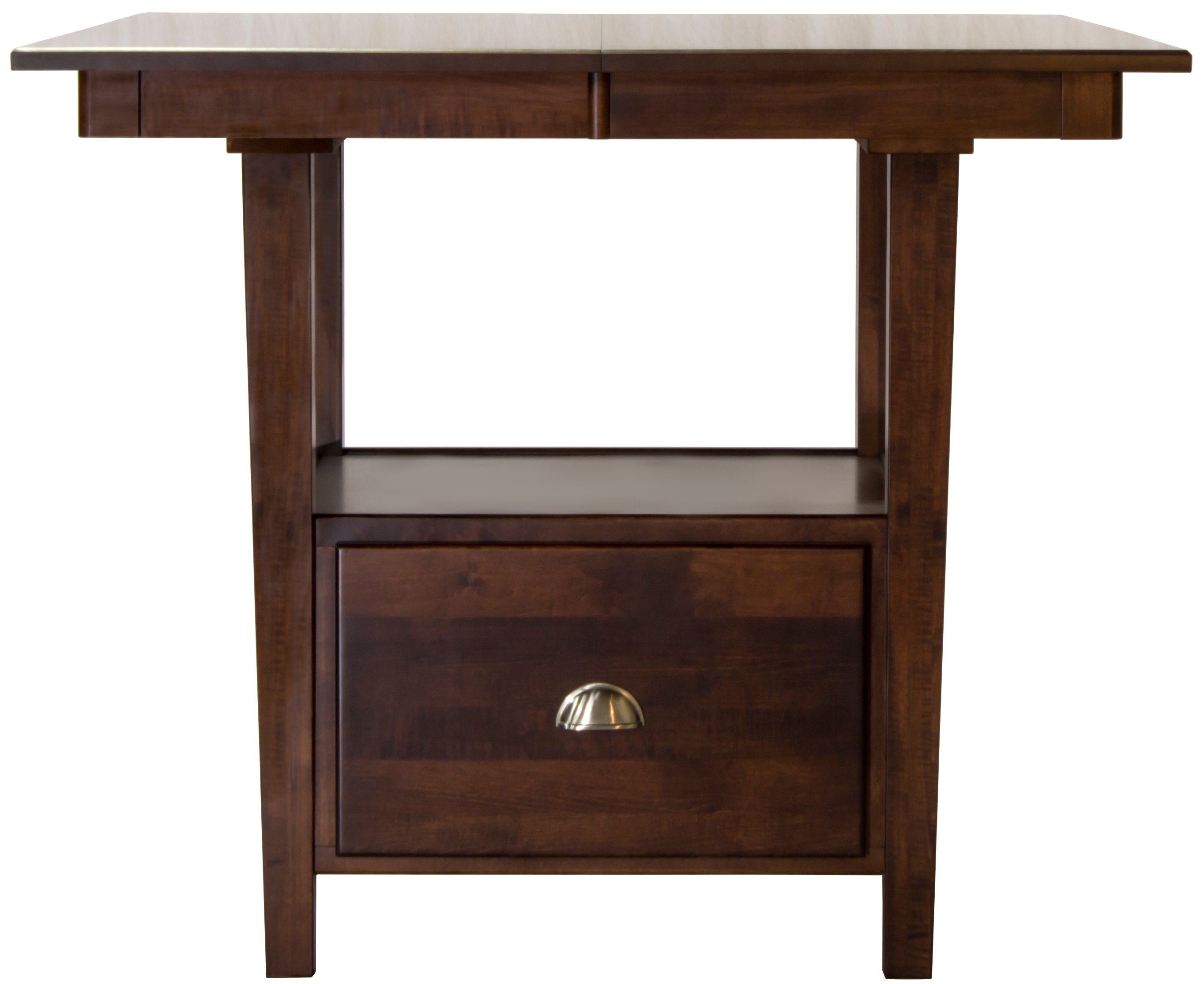 Maple Counter Height Dining Room Table   Larkin