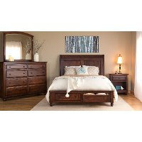 Classic 4 Piece King Bedroom Set - Charlton