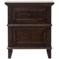 Classic Cherry Brown Nightstand - Brentwood