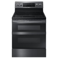 NE59M6850SG Samsung Electric Range with WiFi connectivity - 5.9 cu. ft. Black Stainless Steel
