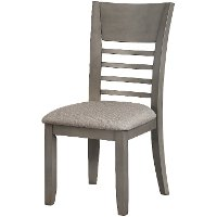 Gray Upholstered Dining Chair - Greyson