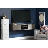 11504 Gray Maple Wall Mounted Medial Console - Agora