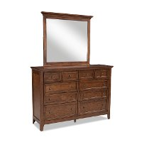 Casual Classic Brown Dresser - St. Mortiz