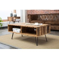 Reclaimed Wood Coffee Table - Brixton
