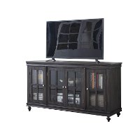 Distressed Gray Rustic 60 Inch TV Stand - Copeland