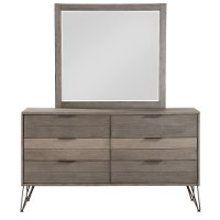 Modern Industrial Gray Dresser - Urbanite