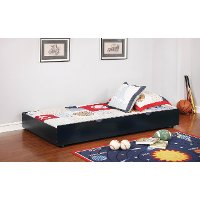 IDF-TR453-BL Classic Contemporary Blue Twin Size Trundle - Jazzy