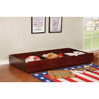 IDF-TR453-CH Classic Contemporary Cherry Twin Size Trundle - Jazzy