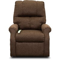 Chocolate Brown 3-Position Reclining Lift Chair - Mason