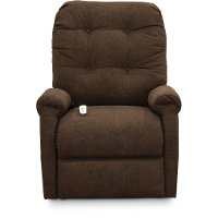Java Brown 3-Position Reclining Lift Chair - Popstitch