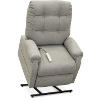 Pebbles Gray 3-Position Reclining Lift Chair - Popstitch