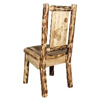 MWGCKSCNLZWOLF Country Wolf Dining Chair - Glacier Country