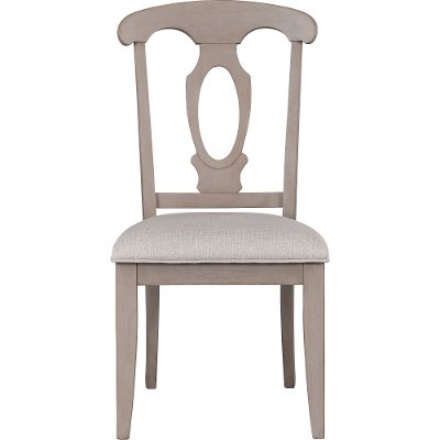 4547-581PUT/SIDECHR Putty Tan Upholstered Dining Chair - Ashgrove