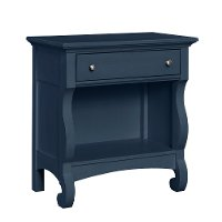 4547-291NAV/NGHTTBLE Rustic Casual Navy Night Table - Ashgrove