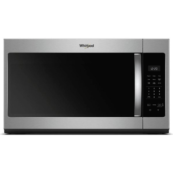 Wmh31017hs Whirlpool Over The Range Microwave 1 7 Cu Ft Stainless Steel