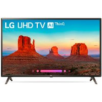49UK6300^4K-IPS LG UK6300 Series 49 Inch 4K HDR UHD Smart TV w/ AI ThinQ